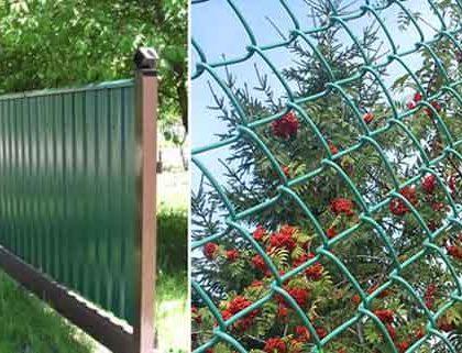 Из чего сделать забор на дачном участке