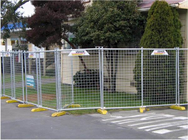 Мобильный забор