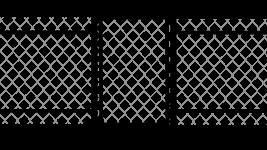 Калитка из сетки рабицы