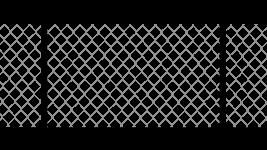 Забор из сетки рабицы натяжной в уголке